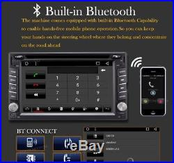 2DIN 6.2 Android 6.0 Car Radio Stereo DVD Player GPS wifi BT+Cam+Full HD DVR