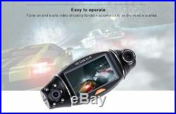 2.7 HD Car Dashcam DVR Video Recorder with140 Degrees Wide Angle and Night Vision