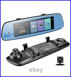 4G Android 5.1 Car DVR 7.84 ADAS Remote Monitor Rear view mirror with GPS WIFI