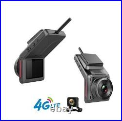 4G LTE Dual Camera Car Video Recorder with WiFi GPS Live Monitor Night Vision