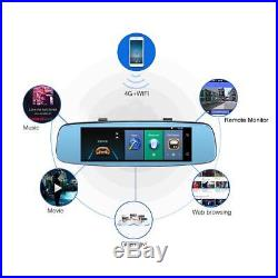 7.84 Full HD 1080P Android Car Auto Rearview Mirror DVR Camera 4G WiFi Dash Cam