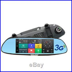 7 Inch Car Dvr Mirror Camera Android 5.0 Wifi Gps Full Hd 1080P Video Recorder D
