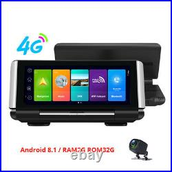7 inch Full screen IPS Touch universal Dashboard 4G Car DVR Dash Cam Android 8.1