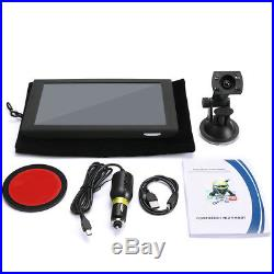 9 Full HD 1080P For Android 4.4 Car GPS Navigation DVR Camera Video Recorder