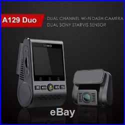 A129 Duo 1080P LCD Dual Channel 5GHz Wi-Fi Full HD Car Dash Camera DVR with GPS