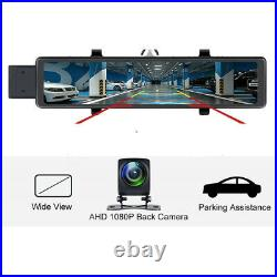 Android 8.1 Full HD Car DVR Camera Dash Cam Recorder Dual Lens Motion Detection