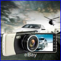 Car 4 Inch IPS Full HD 1080P Driving Recorder Auto Dash Cam DVR Camcorder