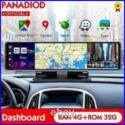 Car Rearview Mirror DVR 4G Dash Camera Full HD 12 Inch Android 8.1 r Video Reco