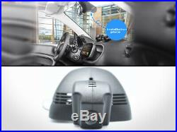 DVR Dash Camera Video Recorder + 16GB SD Card For Smart Car Fortwo Forfour Gen. 3