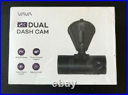 Dual Dash Cam, VAVA 2K Front and 1080P Cabin or 2K 30fps Single Front Car Camera