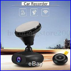 Full HD 1080P Wifi GPS DVR Car Driving Recorder 140° Wide Angle Night Vision