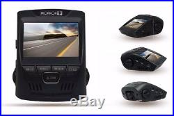 High Quality Dual Channel Full HD Car DVR Wide Angle Auto Record with Ignition