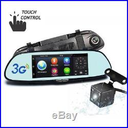 Hikity 1080P Full HD Rearview Mirror Monitor Wifi 3G Car DVR with GPS
