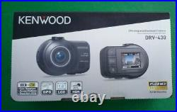 Kenwood Drv-430 Hd Car Dash Cam Camera Night Vision Inbuilt Gps With Power Cable