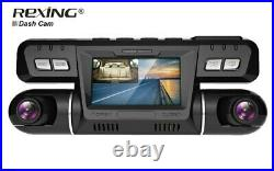 Rexing P28 Dash Cam With Wifi 4k Dual 1080p Front & Inside Ride Sharing + Taxi