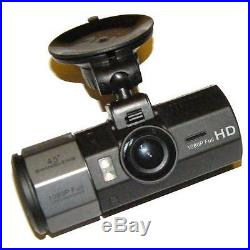 Silent Witness SW012 Car Twin DVR Compact Accident HD Camera Front and Rear